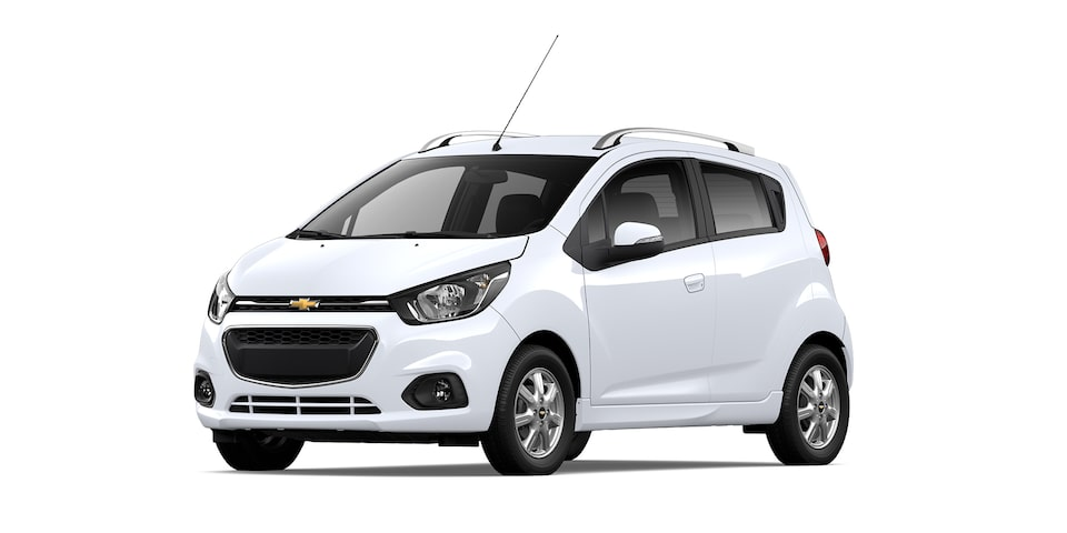 Chevrolet Beat HB 2021, auto hatchback en color blanco